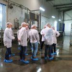 Bedrijfsbezoek pluimveeslachterij